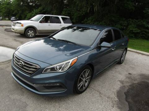 2015 Hyundai Sonata for sale at S & T Motors in Hernando FL