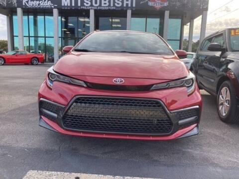 2020 Toyota Corolla for sale at Riverside Mitsubishi(New Bern Auto Mart) in New Bern NC