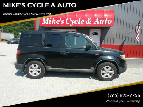 2009 Honda Element for sale at MIKE'S CYCLE & AUTO in Connersville IN