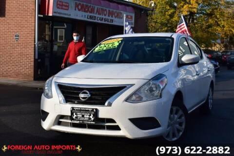 2018 Nissan Versa for sale at www.onlycarsnj.net in Irvington NJ