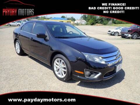 2012 Ford Fusion for sale at Payday Motors in Wichita KS