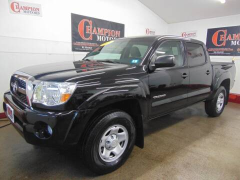 2011 Toyota Tacoma for sale at Champion Motors in Amherst NH