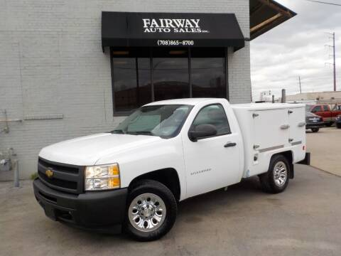 2013 Chevrolet Silverado 1500 for sale at FAIRWAY AUTO SALES, INC. in Melrose Park IL