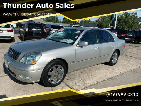 2003 Lexus LS 430 for sale at Thunder Auto Sales in Sacramento CA