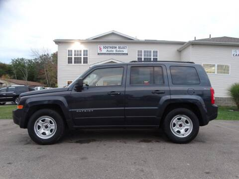 2014 Jeep Patriot for sale at SOUTHERN SELECT AUTO SALES in Medina OH
