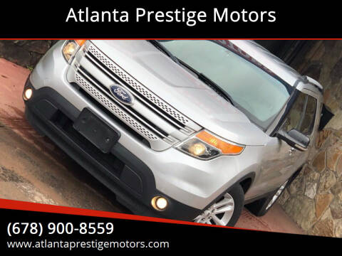 2012 Ford Explorer for sale at Atlanta Prestige Motors in Decatur GA