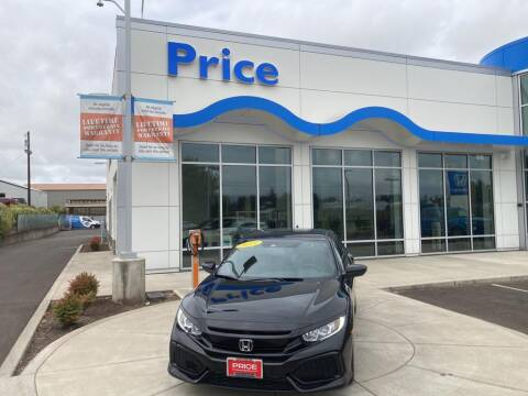 2019 Honda Civic for sale at Price Honda in McMinnville in Mcminnville OR