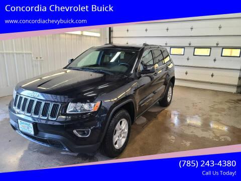 2015 Jeep Grand Cherokee for sale at Concordia Chevrolet Buick in Concordia KS