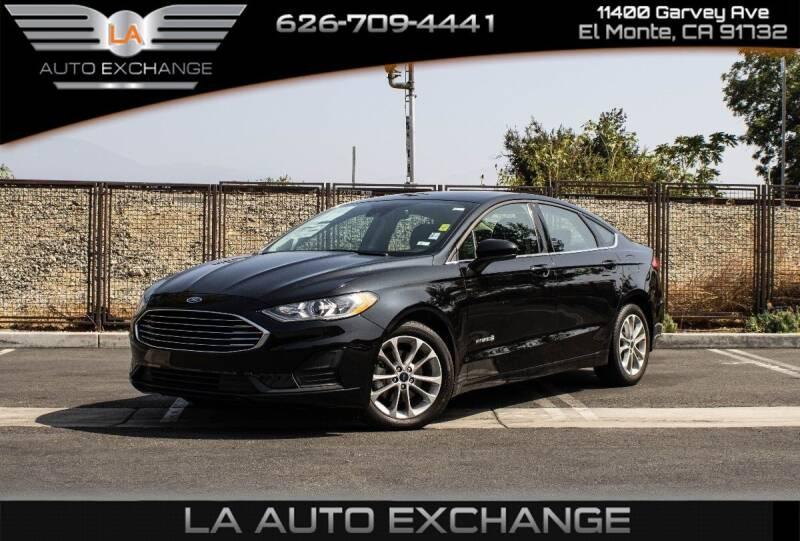 2019 Ford Fusion Hybrid for sale in El Monte, CA