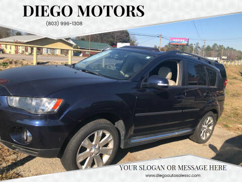 2010 Mitsubishi Outlander for sale at DIEGO MOTORS in Lexington SC