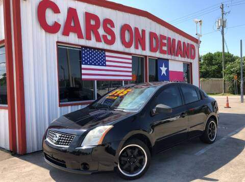 2009 Nissan Sentra for sale at Cars On Demand 2 in Pasadena TX