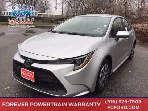 2021 Toyota Corolla Hybrid for sale at Fort Dodge Ford Lincoln Toyota in Fort Dodge IA