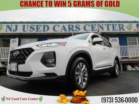 2020 Hyundai Santa Fe for sale at New Jersey Used Cars Center in Irvington NJ