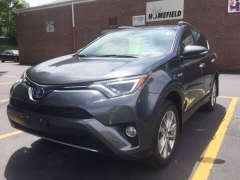 2017 Toyota RAV4 Hybrid for sale at Drive Deleon in Yonkers NY