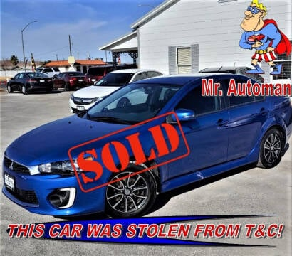 2017 Mitsubishi Lancer for sale at TOWN & COUNTRY AUTO SALES in Overton NV