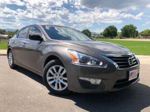 2015 Nissan Altima for sale at Nations Auto in Lakewood CO