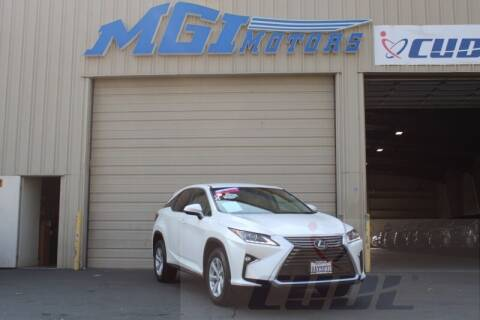 2017 Lexus RX 350 for sale at MGI Motors in Sacramento CA