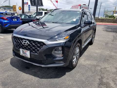 2020 Hyundai Santa Fe for sale at ON THE MOVE INC in Boerne TX
