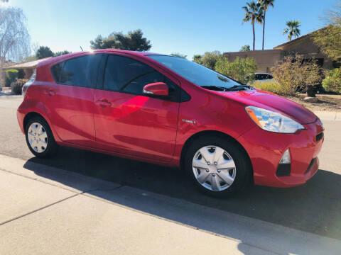 2013 Toyota Prius c for sale at Arizona Hybrid Cars in Scottsdale AZ
