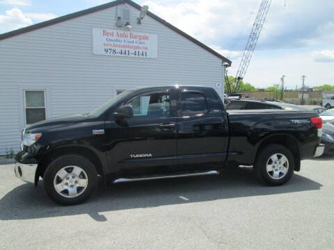 2012 Toyota Tundra for sale at BEST AUTO BARGAIN inc. in Lowell MA