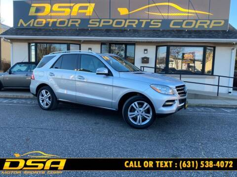 2014 Mercedes-Benz M-Class for sale at DSA Motor Sports Corp in Commack NY