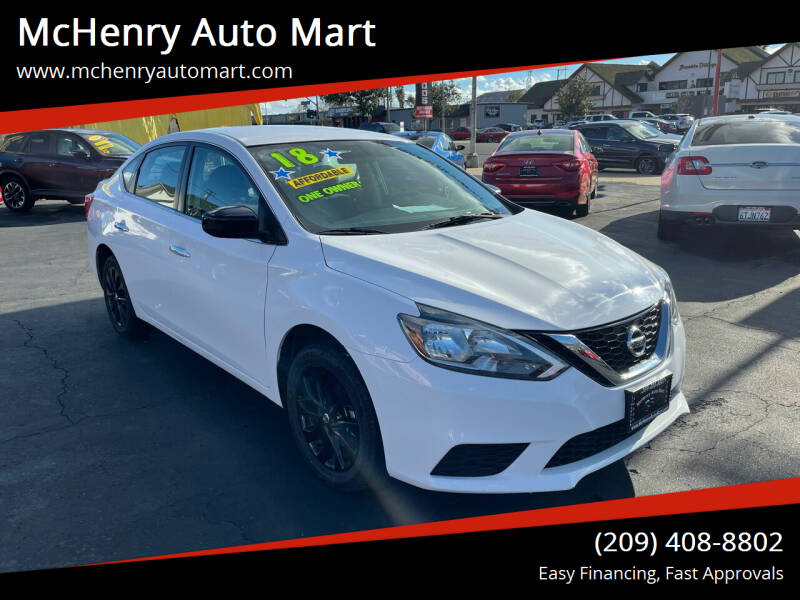 2018 Nissan Sentra for sale at McHenry Auto Mart in Turlock CA