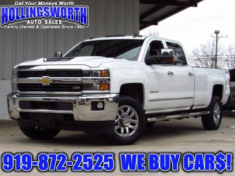 2017 Chevrolet Silverado 3500HD for sale at Hollingsworth Auto Sales in Raleigh NC