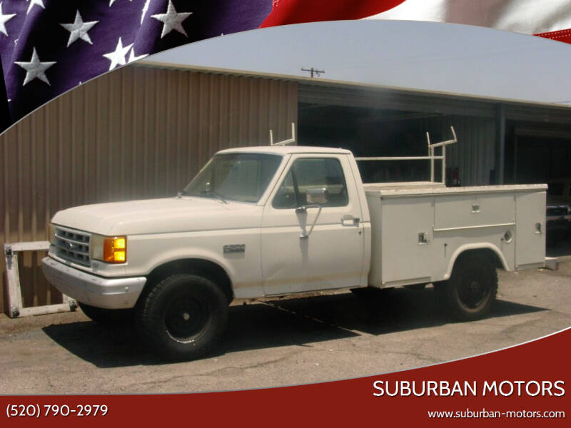 1990 Ford F-250 for sale at Suburban Motors in Tucson AZ