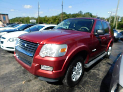 2008 Ford Explorer for sale at WOOD MOTOR COMPANY in Madison TN