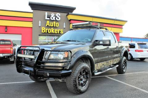 2008 Ford F-150 for sale at L & S AUTO BROKERS in Fredericksburg VA