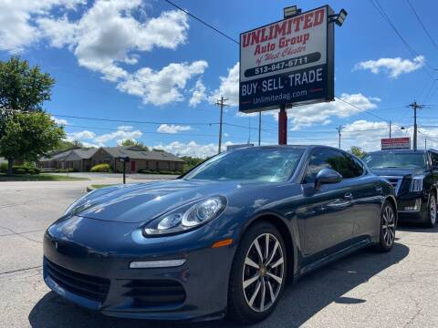 2015 Porsche Panamera for sale at Unlimited Auto Group in West Chester OH