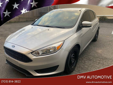 2016 Ford Focus for sale at DMV Automotive in Falls Church VA