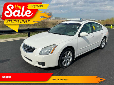 2007 Nissan Maxima for sale at CARLUX in Fortville IN