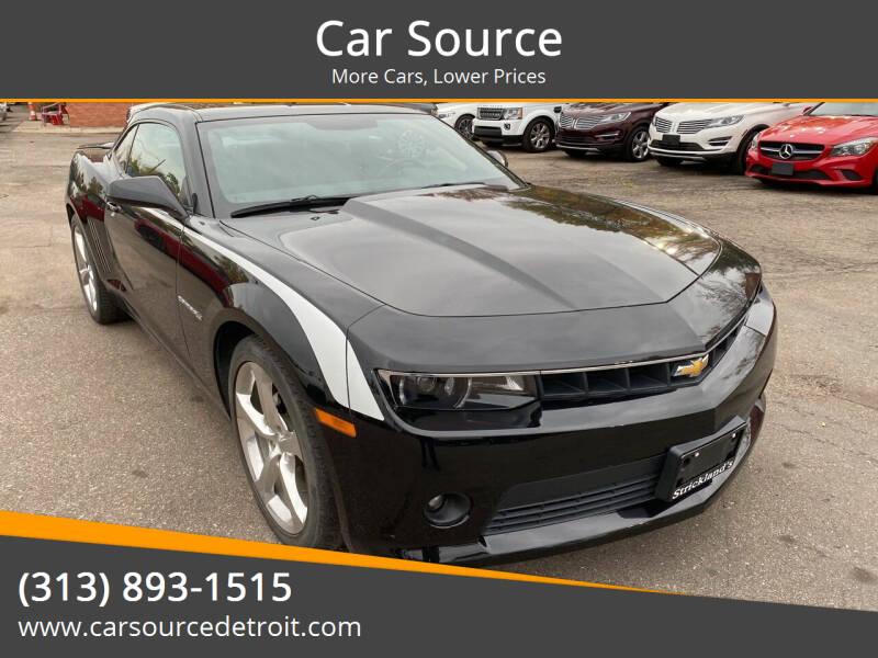 2014 Chevrolet Camaro for sale at Car Source in Detroit MI