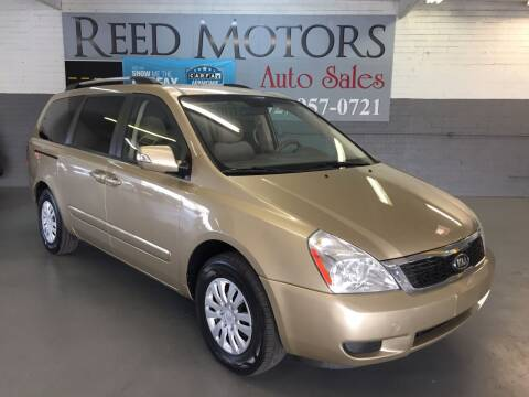 2011 Kia Sedona for sale at REED MOTORS LLC in Phoenix AZ