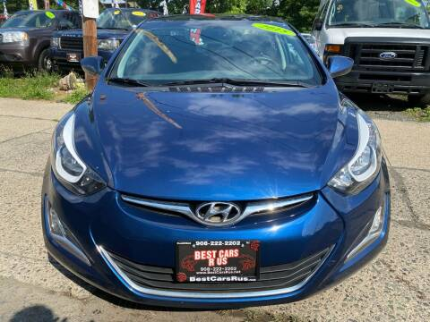 2016 Hyundai Elantra for sale at Best Cars R Us in Plainfield NJ