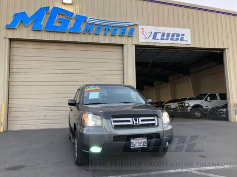 2007 Honda Pilot for sale at MGI Motors in Sacramento CA