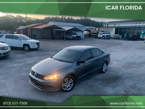 2015 Volkswagen Jetta for sale at ICar Florida in Lutz FL