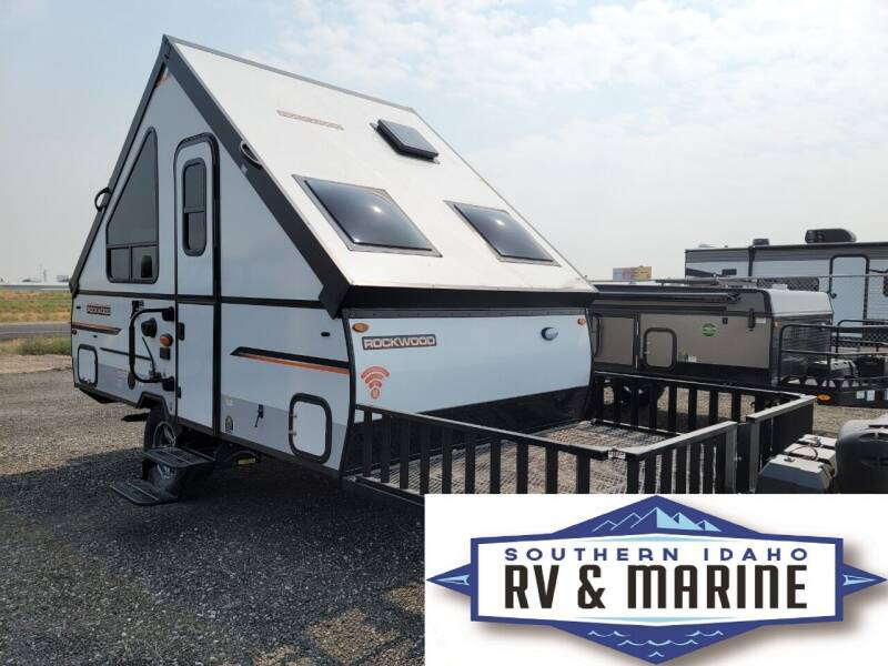 2022 FOREST RIVER ROCKWOOD A122TH-W for sale at SOUTHERN IDAHO RV AND MARINE - New Trailers in Jerome ID
