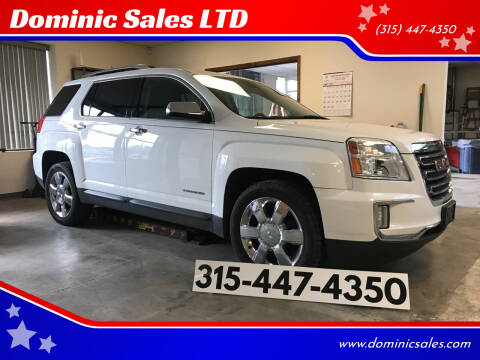 2016 GMC Terrain for sale at Dominic Sales LTD in Syracuse NY