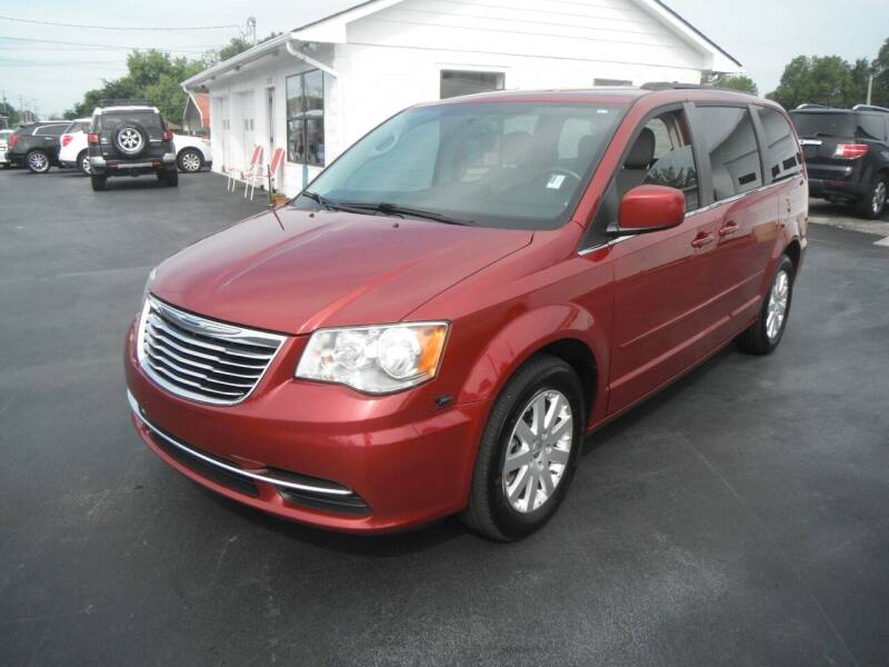 2015 Chrysler Town and Country for sale at Morelock Motors INC in Maryville TN
