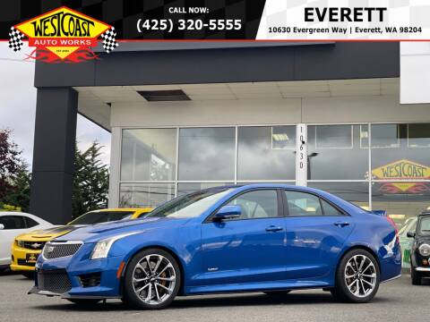 2016 Cadillac ATS-V for sale at West Coast Auto Works in Edmonds WA