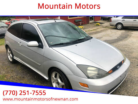 2003 Ford Focus SVT for sale at Mountain Motors in Newnan GA