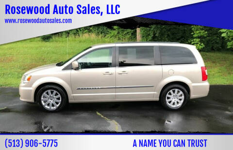 2013 Chrysler Town and Country for sale at Rosewood Auto Sales, LLC in Hamilton OH