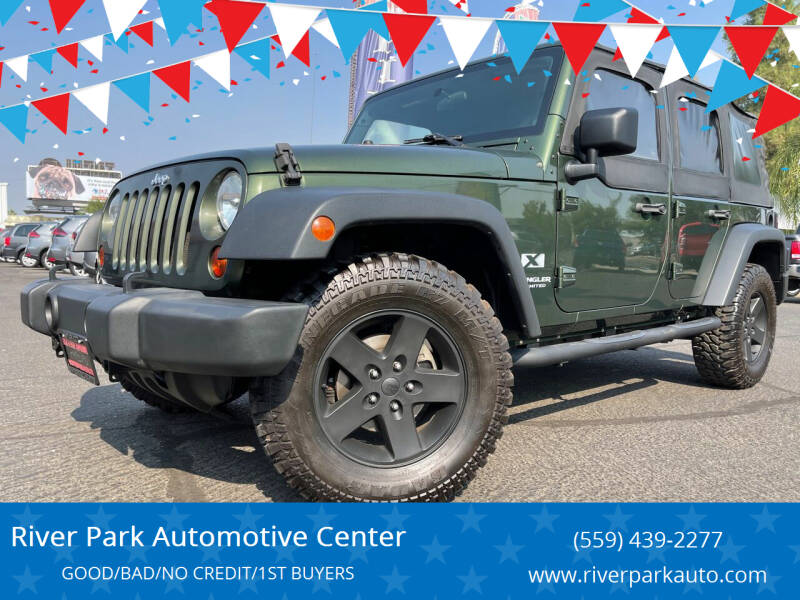 2008 Jeep Wrangler Unlimited for sale at River Park Automotive Center in Fresno CA