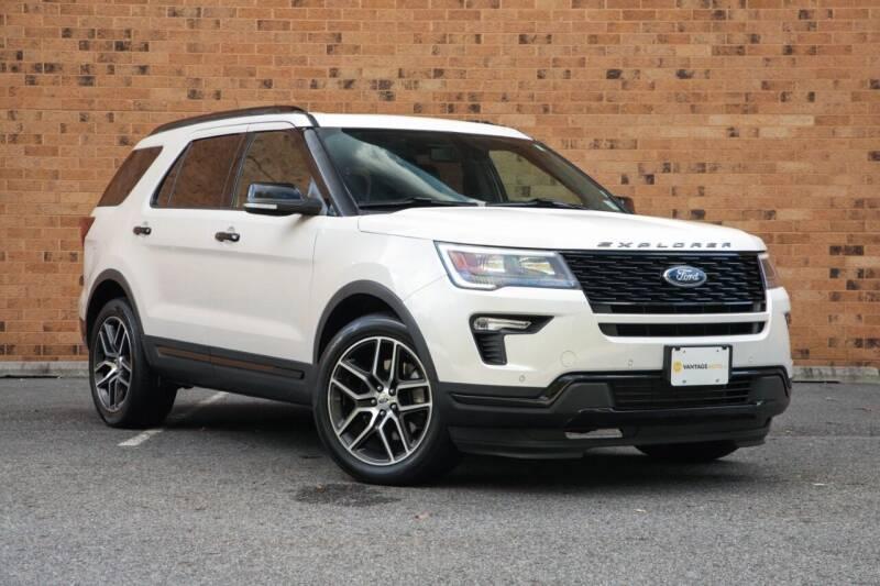 2018 Ford Explorer for sale at Vantage Auto Wholesale in Moonachie NJ