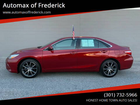 2015 Toyota Camry for sale at Automax of Frederick in Frederick MD