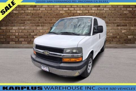 2013 Chevrolet Express Cargo for sale at Karplus Warehouse in Pacoima CA
