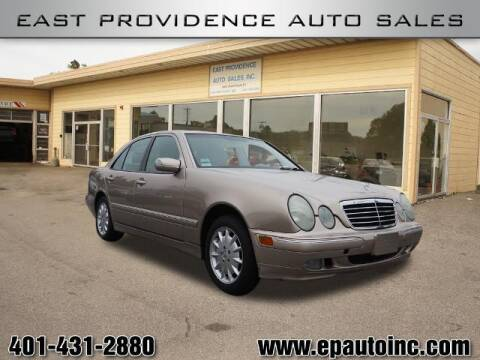 2001 Mercedes-Benz E-Class for sale at East Providence Auto Sales in East Providence RI
