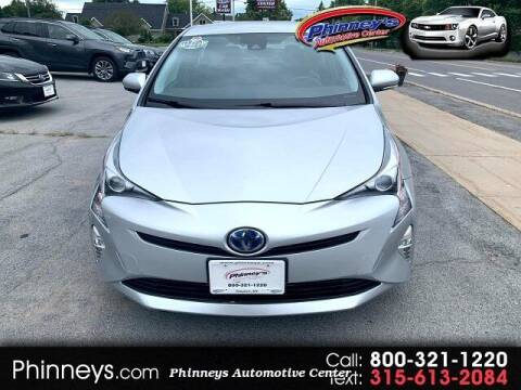 2016 Toyota Prius for sale at Phinney's Automotive Center in Clayton NY